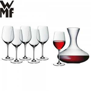 WMF - Easy Plus kieliszki do wina bordeaux 6 szt. + karafka