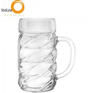 Stolzle Lausitz - Diamond kufel do piwa oktoberfest 1000 ml.