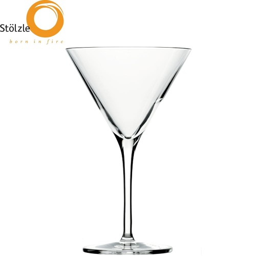 Stolzle Lausitz Bar Liqueur kieliszki do Martini, koktajli, drinków 250 ml 6 szt